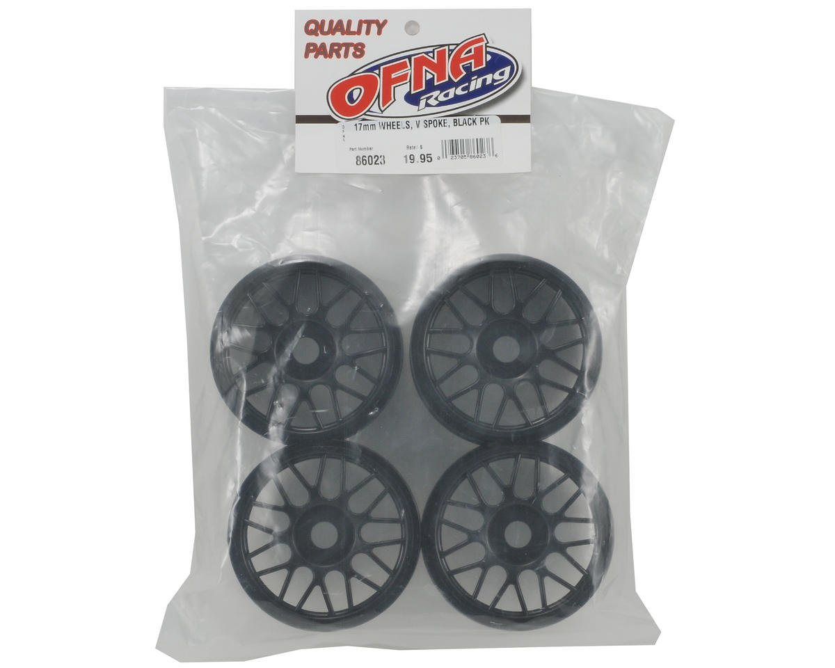 OFNA 17mm V Spoke Wheel Set (4)