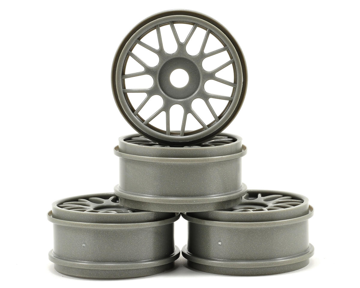 OFNA 17mm V Spoke Wheel Set (Gray) (4)
