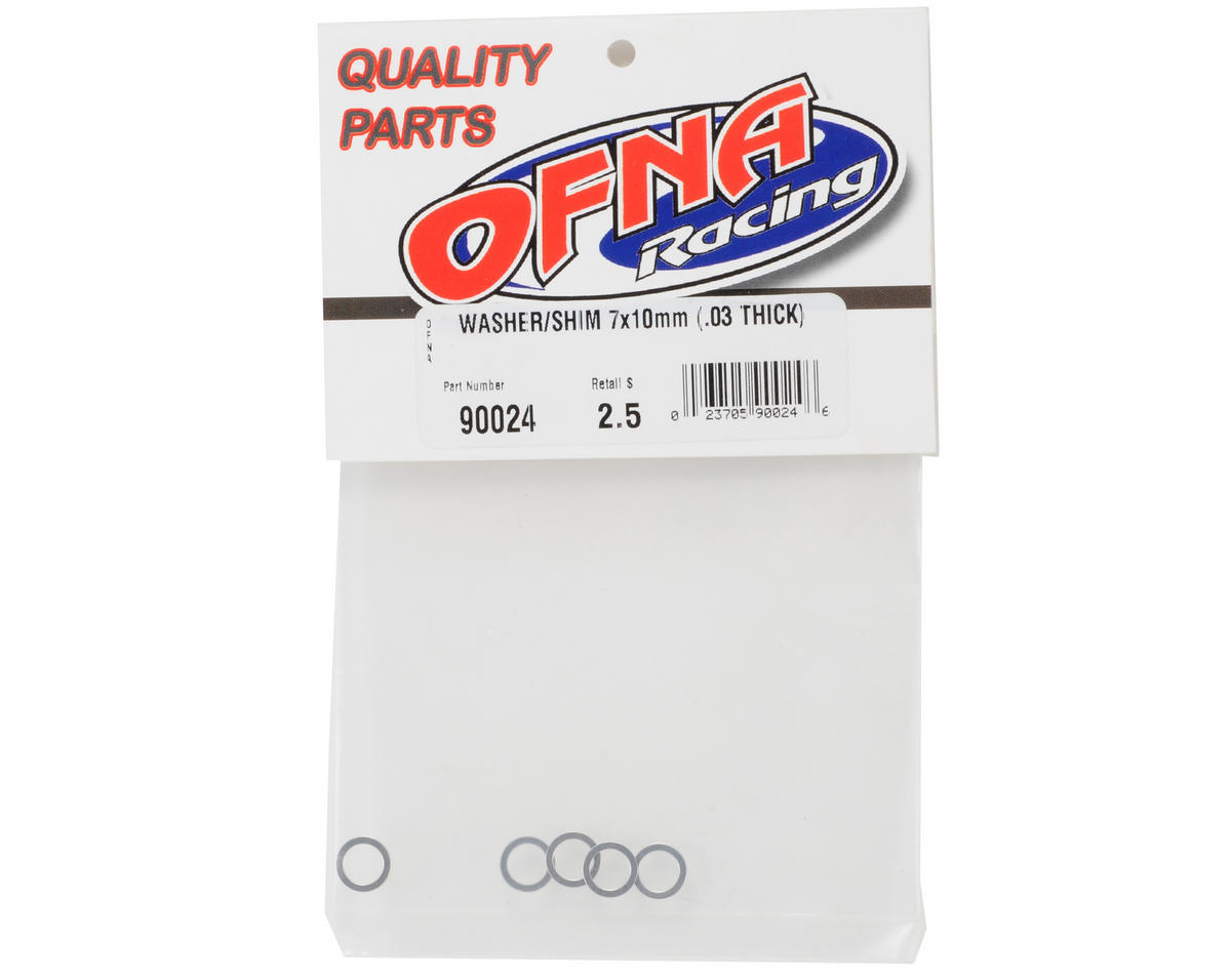 OFNA 7x10x.03mm Washer/Shim