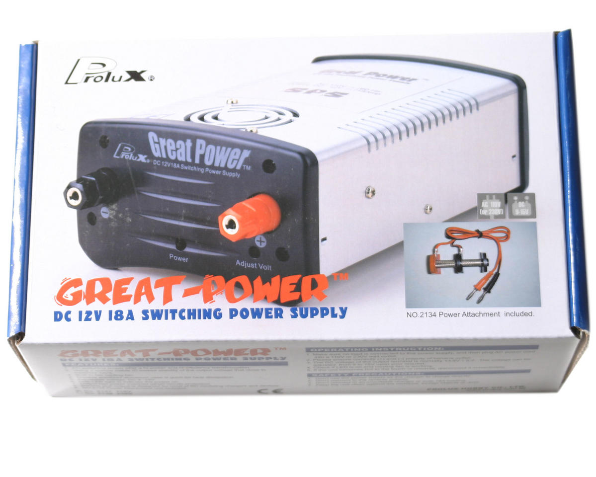 OFNA 9-14V/18A Regulated DC Power Supply