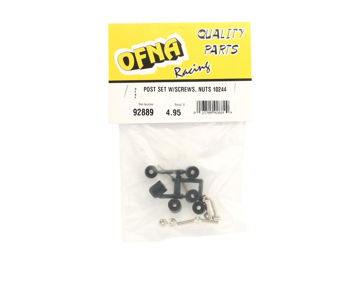 OFNA Post Set w/Screw Nut (6) (for 10244)