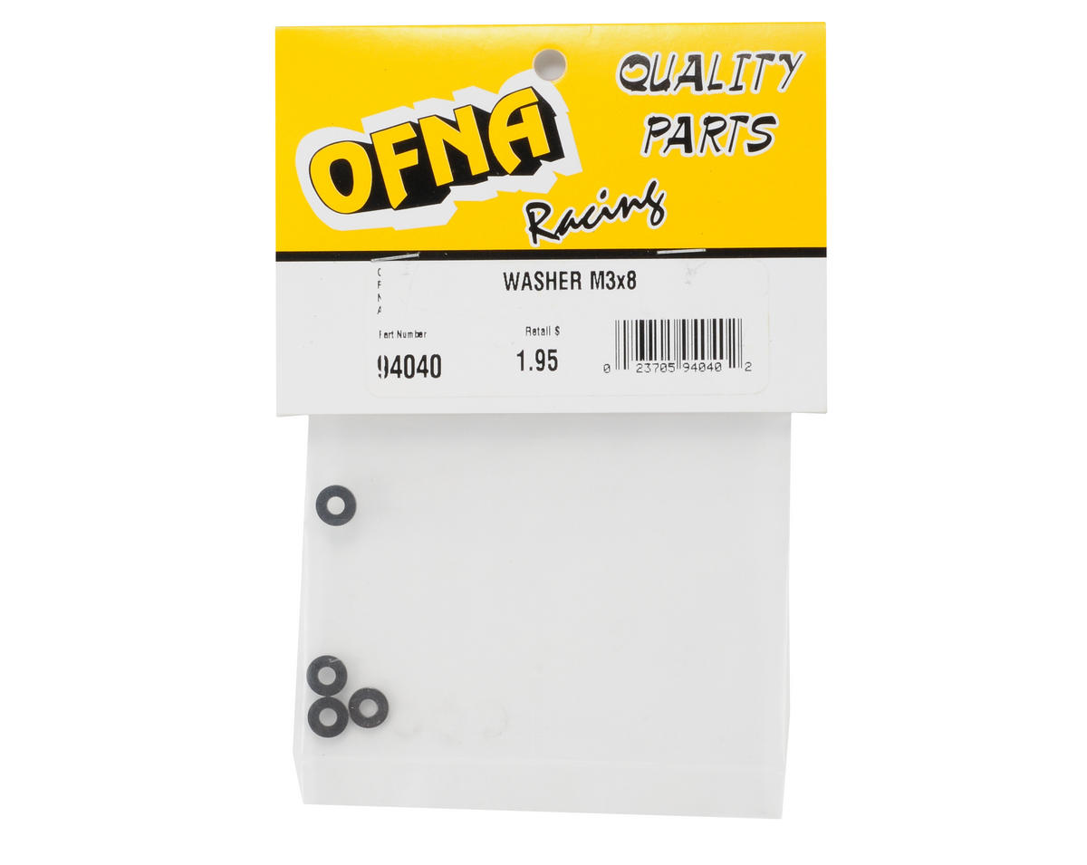 OFNA 3x8mm Washer (4)