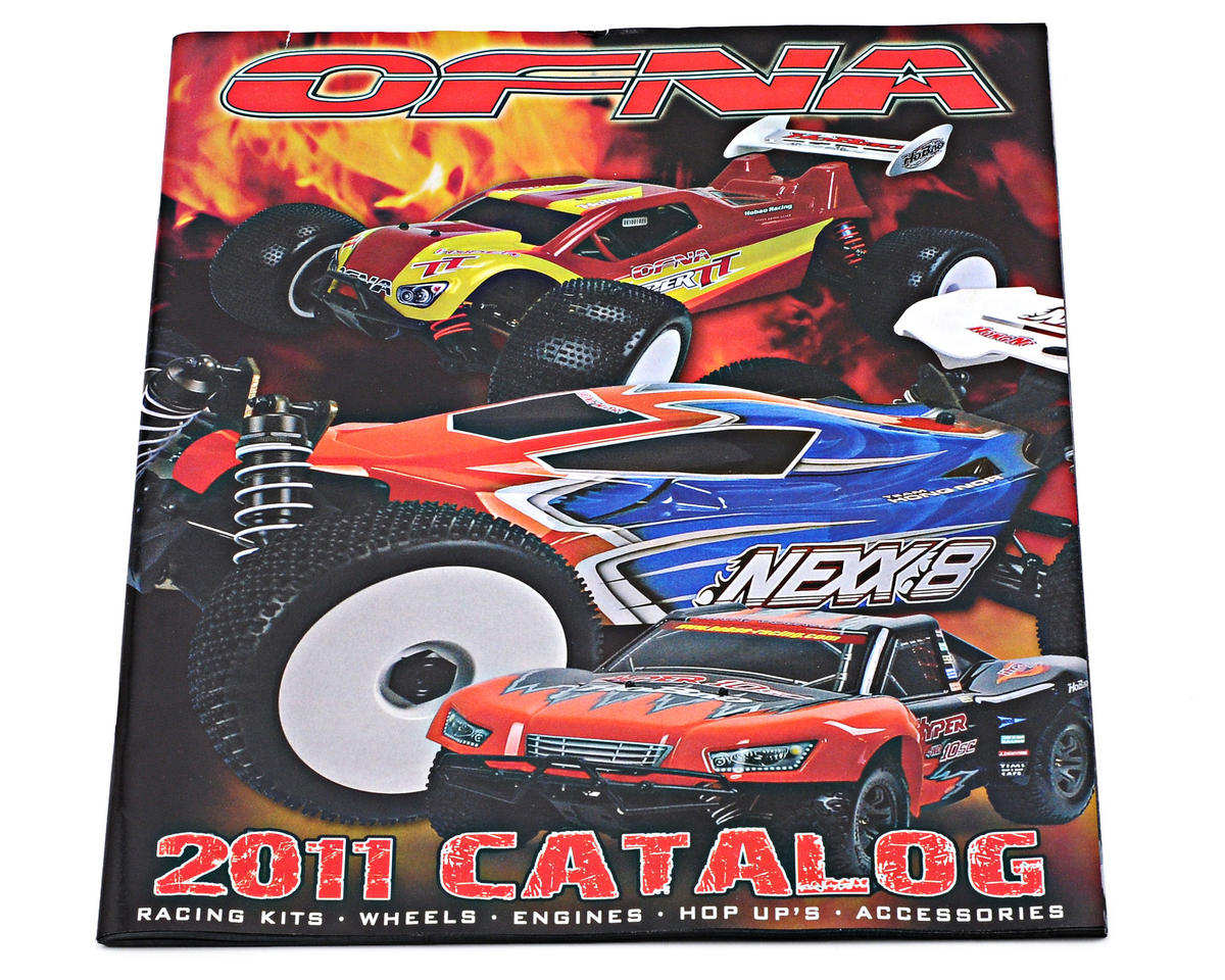 OFNA Racing 2011 Product Catalog (FREE!)