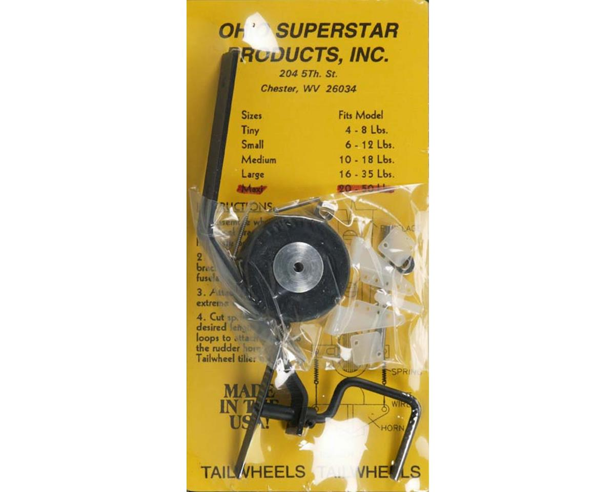 Ohio Superstar OHI140 Leaf Style Tail Wheel Assembly Maxi 20-50 lbs