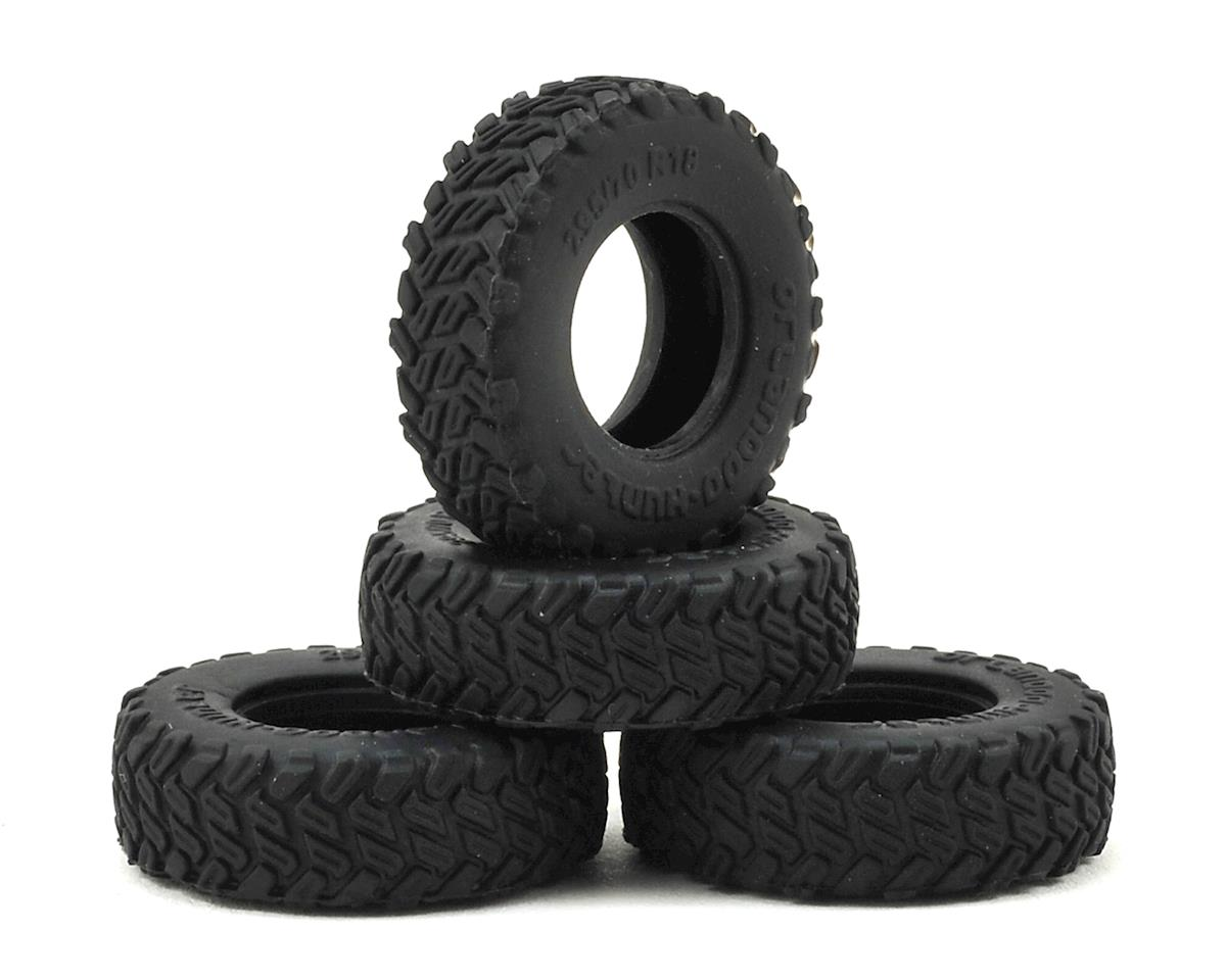 Small Block Tire Set (4) by Orlandoo Hunter