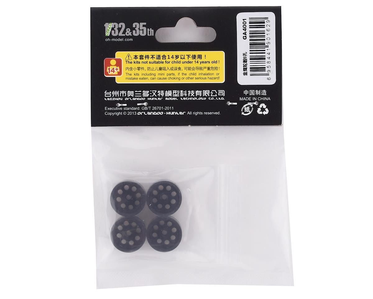 Orlandoo Hunter Aluminum 8 Hole Wheel Set (Black) (4)