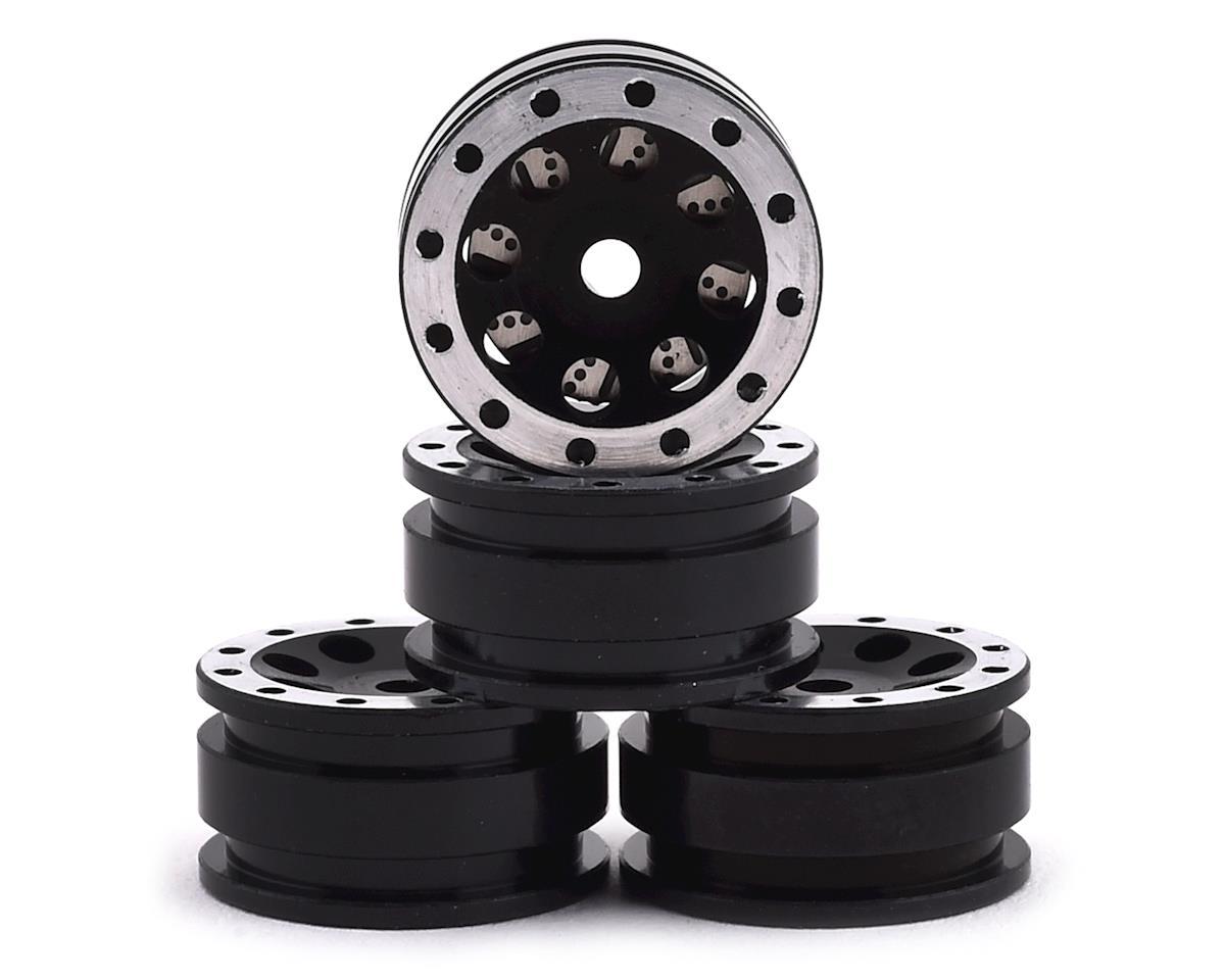 Orlandoo Hunter Aluminum 8 Hole Wheel Set w/Brake Rotor (Black) (4)