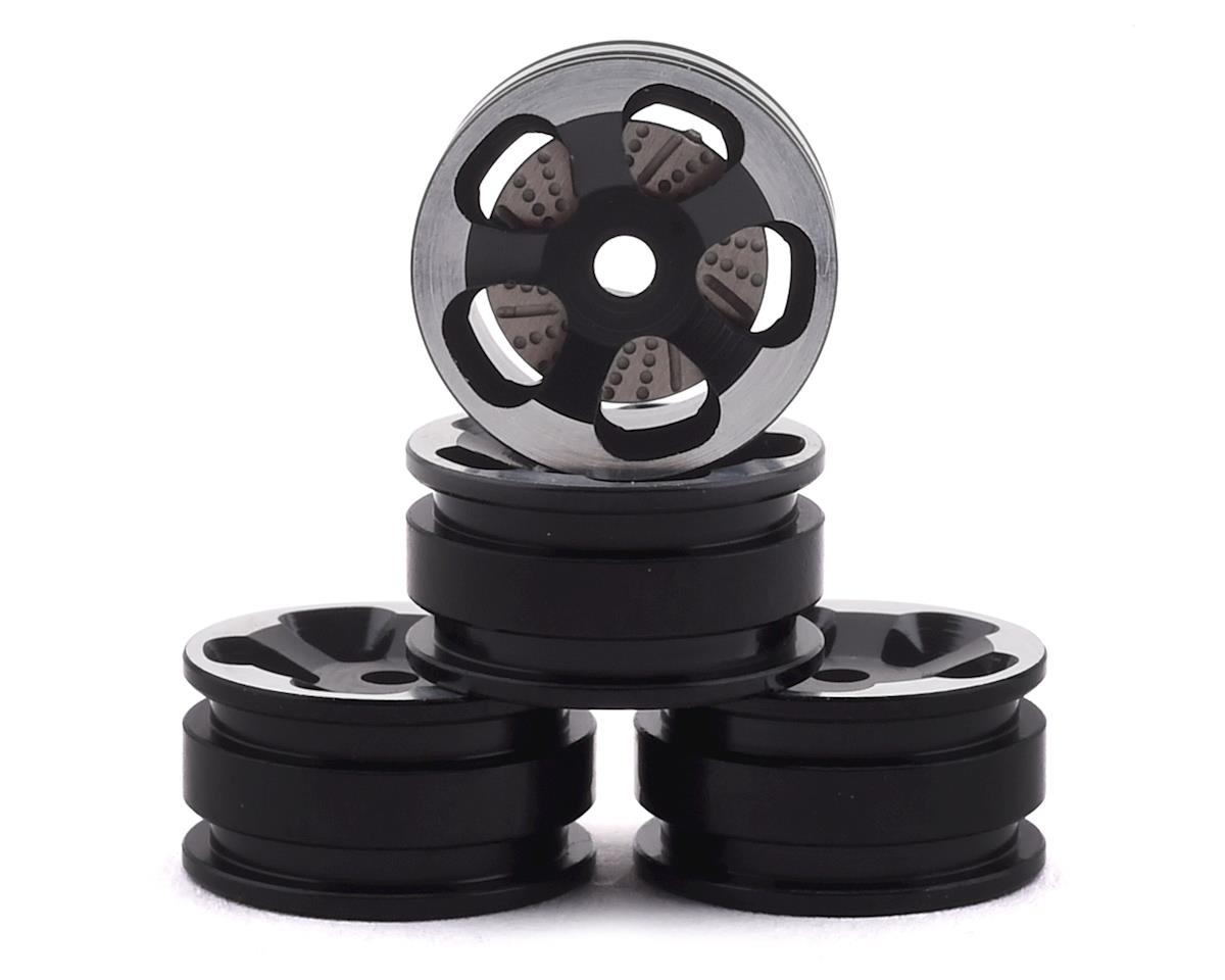 Orlandoo Hunter Aluminum 5 Spoke Wheel Set w/Brake Rotor (Black) (4)