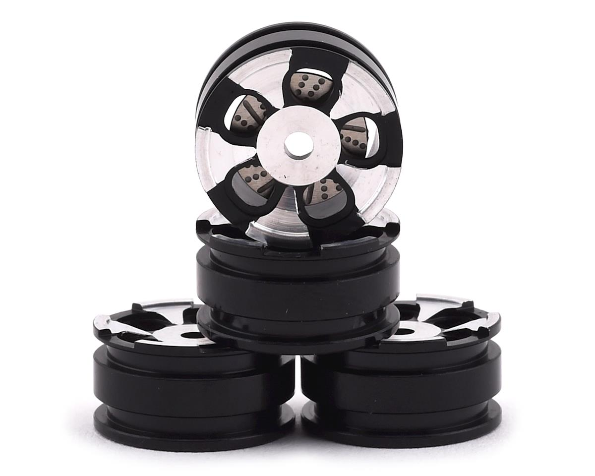 Orlandoo Hunter OH35A01 Aluminum 5 Spoke Wheel Set w/Brake Rotor (Silver) (4)