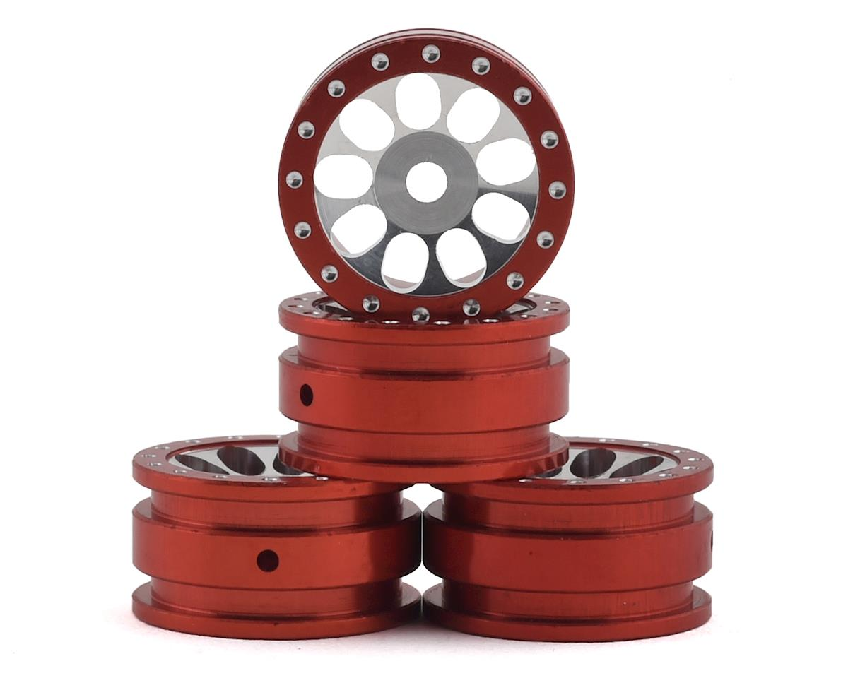 Orlandoo Hunter OH35A01 Aluminum Porous 9 Hole Wheel (Red) (4)