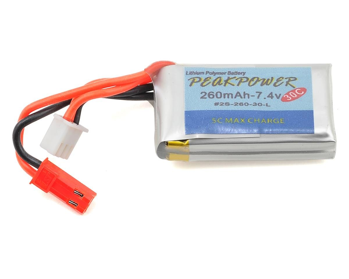 Orlandoo Hunter LiPo Battery w/JST Connector (2S/260mAh)