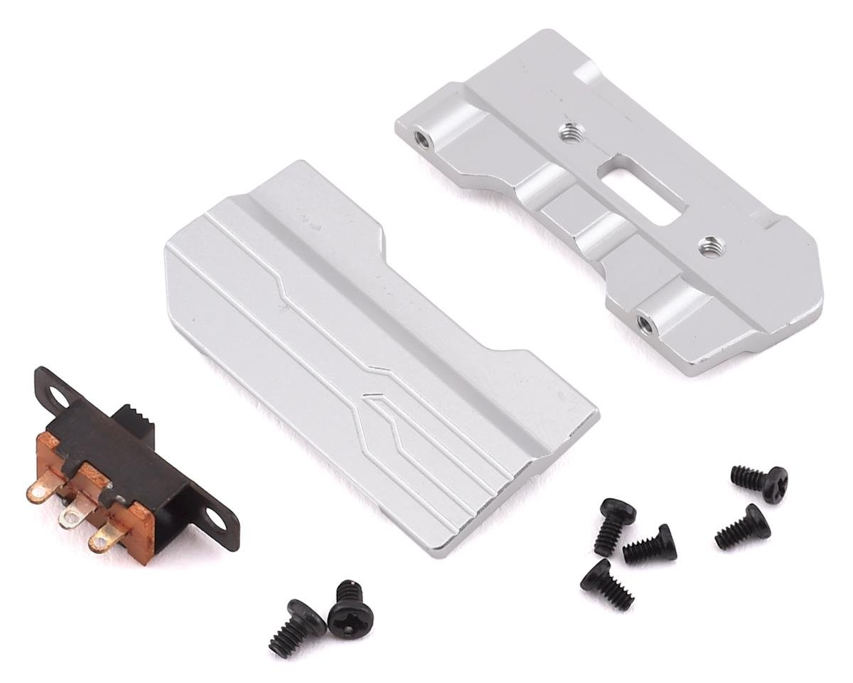 Orlandoo Hunter OH35A01 Aluminum Sliders w/Switch & Switch Mount (Silver)