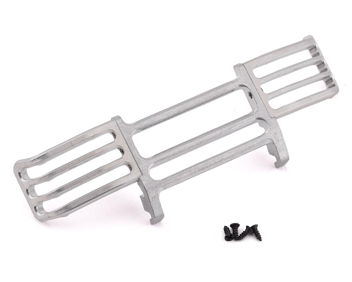 OH32A02 Metal Front Bumper (Silver) by Orlandoo Hunter