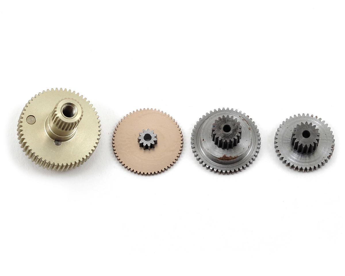 RC OMG 07Q Series Stainless Steel & Aluminum Anodize Titanium Servo Gear Set