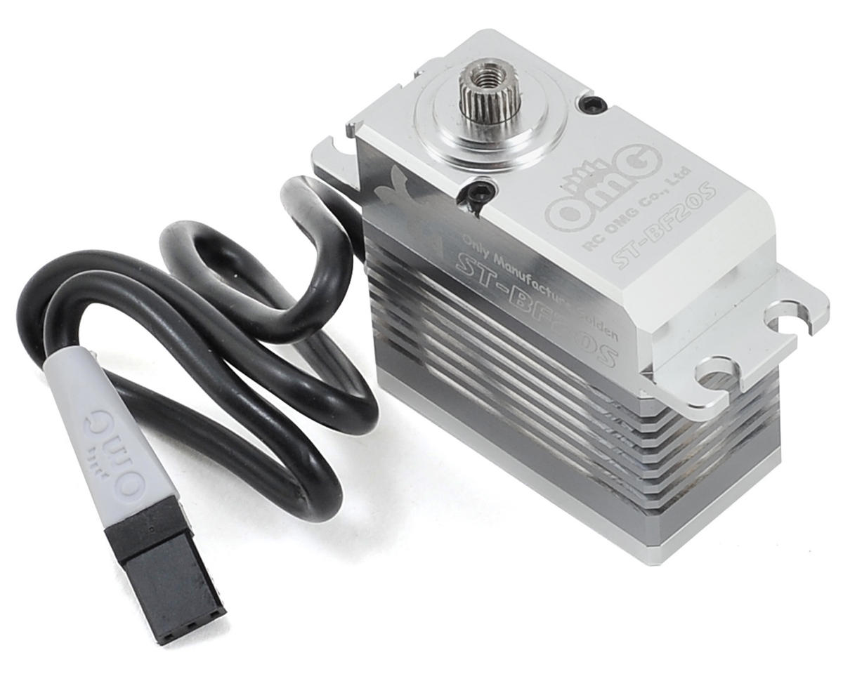 "RC OMG H4-ST-BF20S ""High Torque"" Brushless Aluminum Case Metal Gear Servo (High Voltage)"