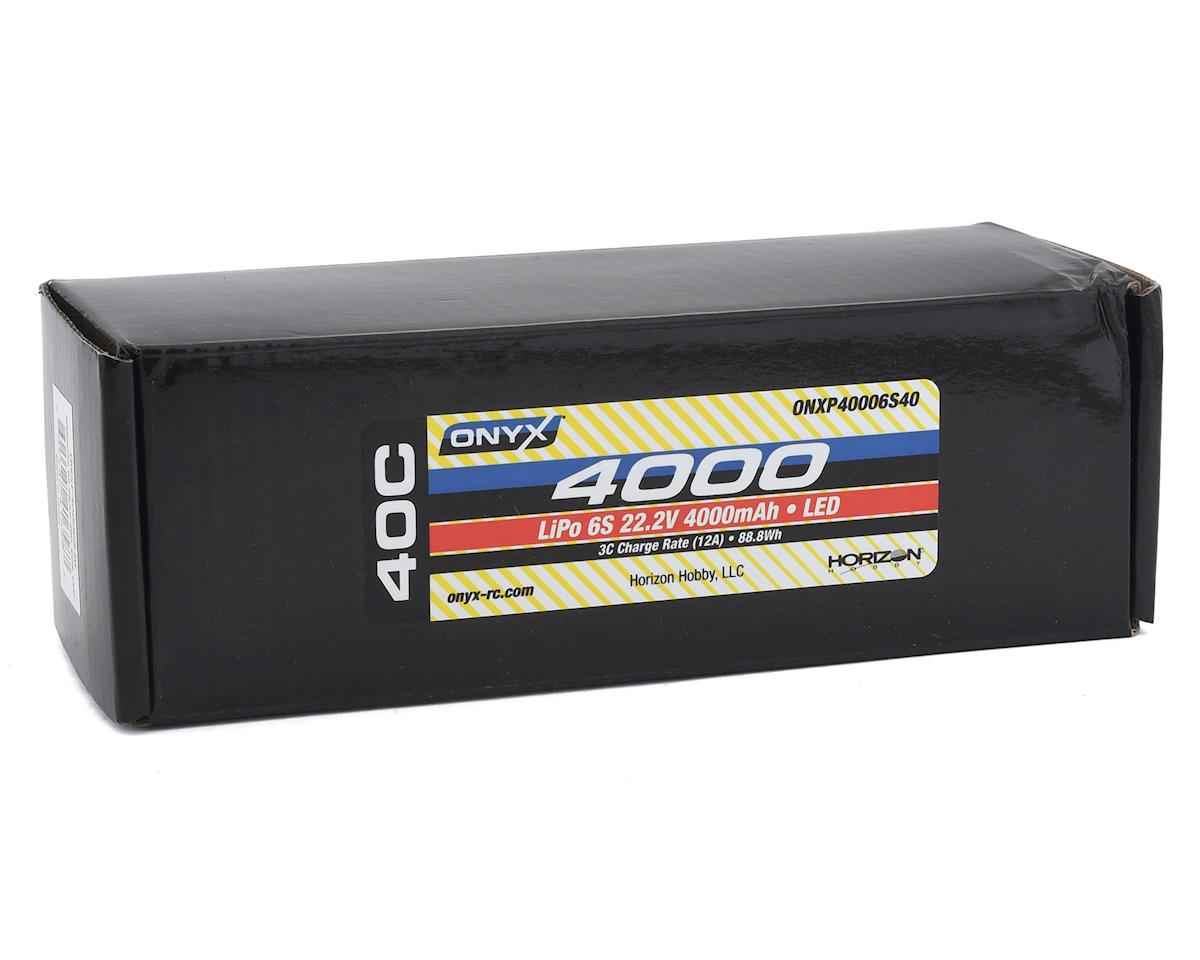 Image 2 for Onyx 6S 40C Soft Case LiPo Battery w/EC5 & LED (22.2V/4000mAh)