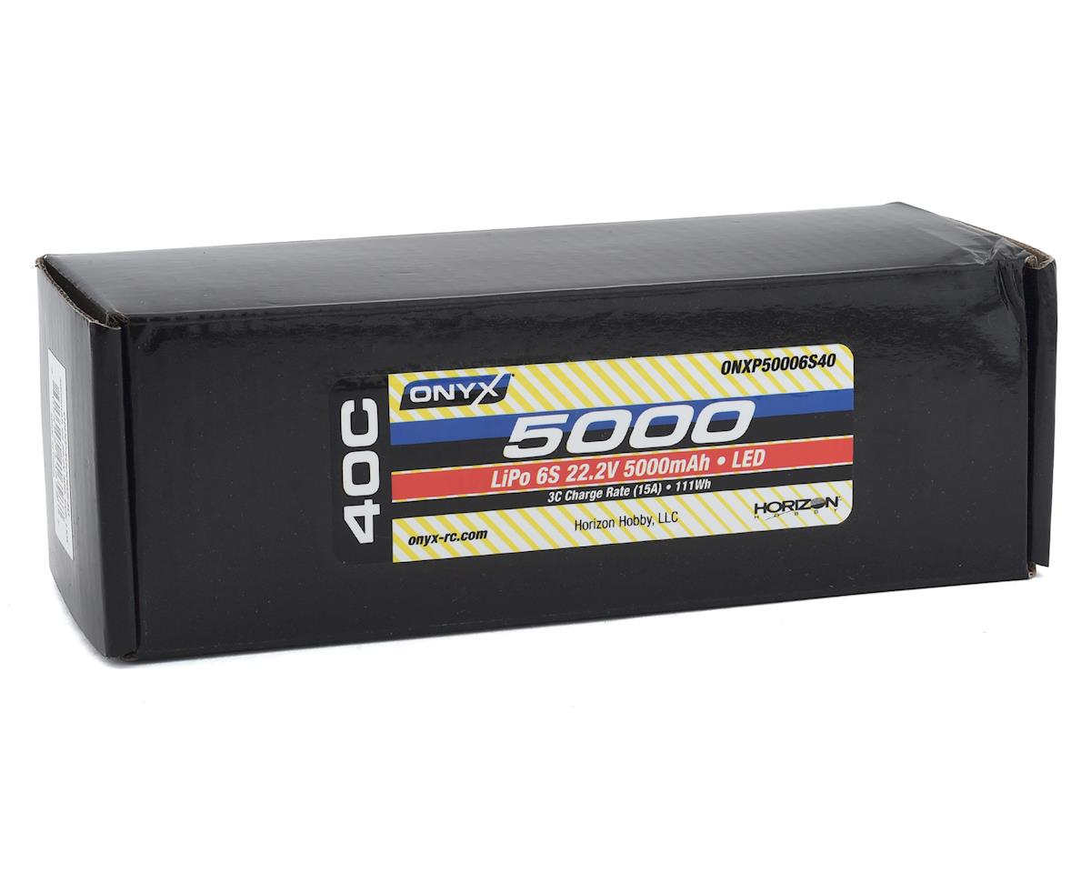 Onyx 6S 40C Soft Case LiPo Battery w/EC5 & LED (22.2V/5000mAh)