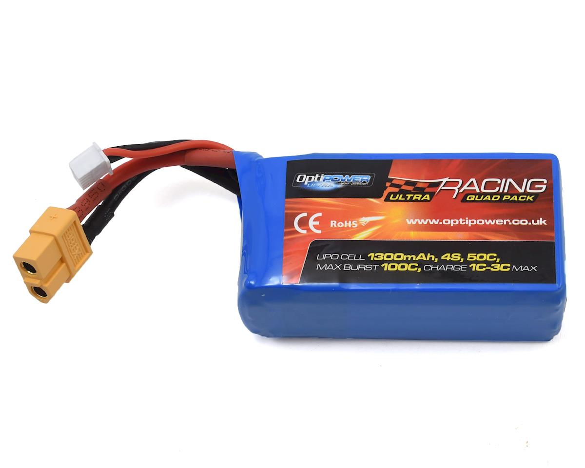 Optipower 4S 50C LiPo Battery (14.8V/1300mAh)