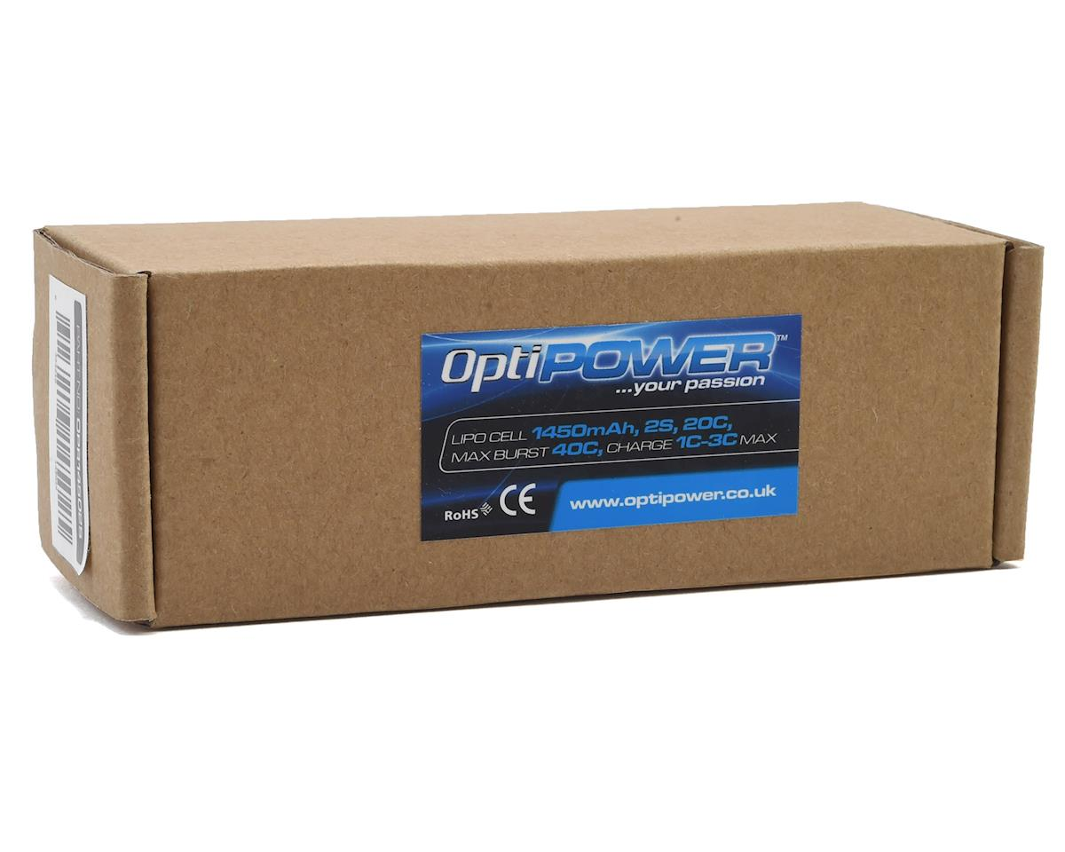 Optipower 2S 20C LiPo Receiver Battery (7.4V/1450mAh)