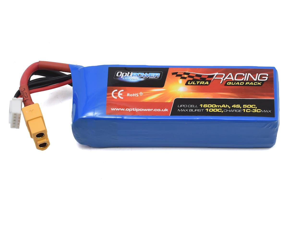 Optipower 4S 50C LiPo Battery (14.8V/1600mAh)