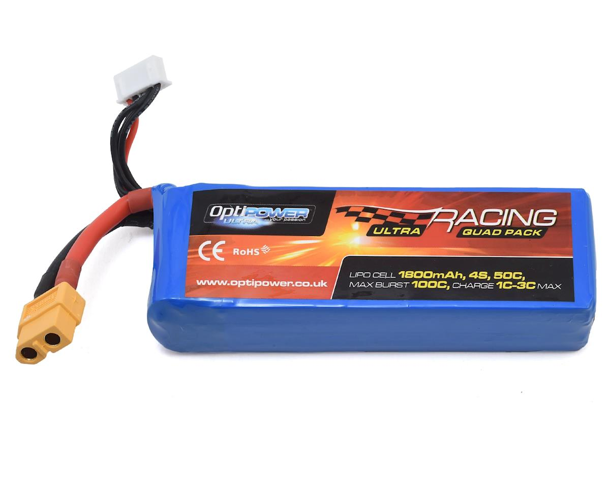 Optipower 4S 50C LiPo Battery (14.8V/1800mAh)