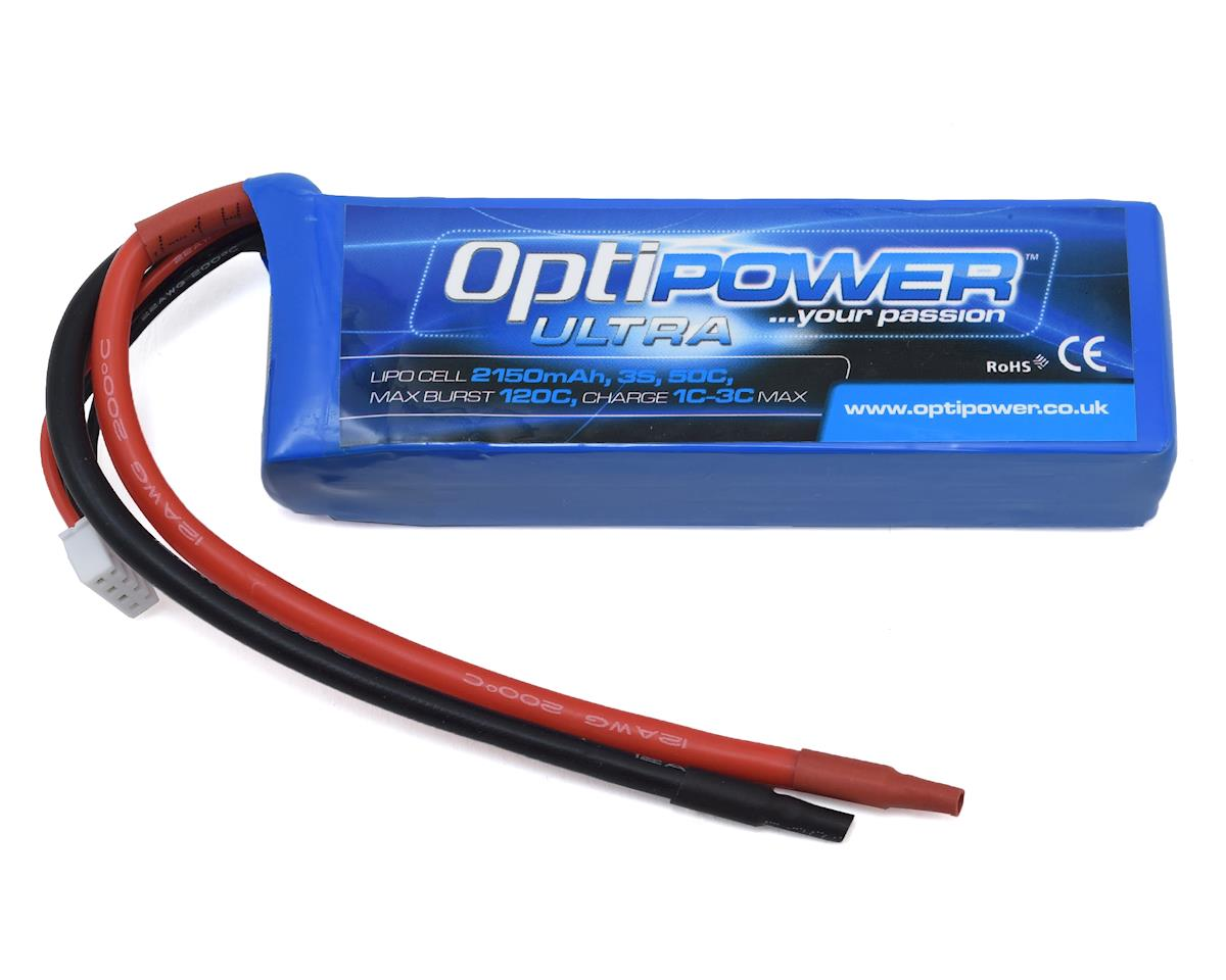 Optipower 3S 50C LiPo Battery (11.1V/2150mAh)