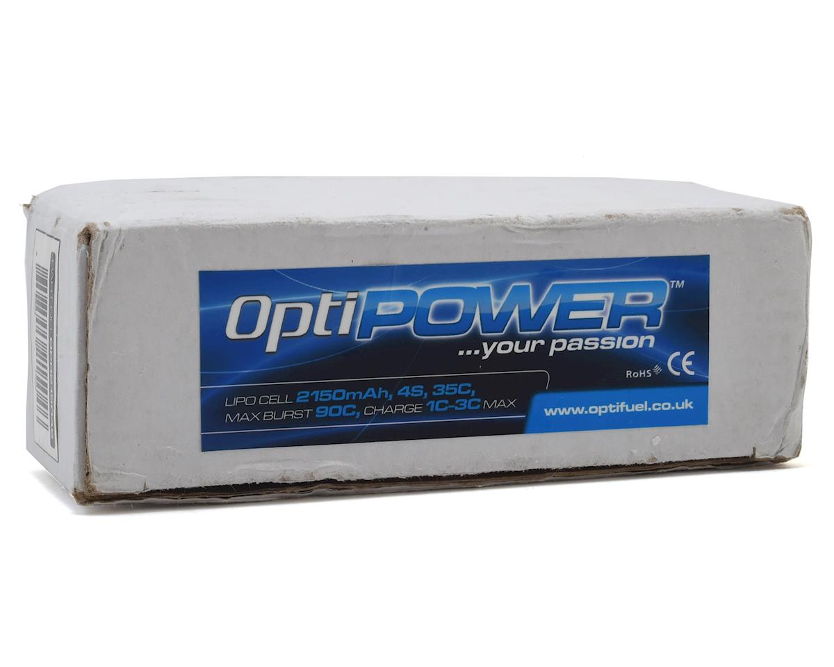Optipower 4S 35C LiPo Battery (14.8V/2150mAh)