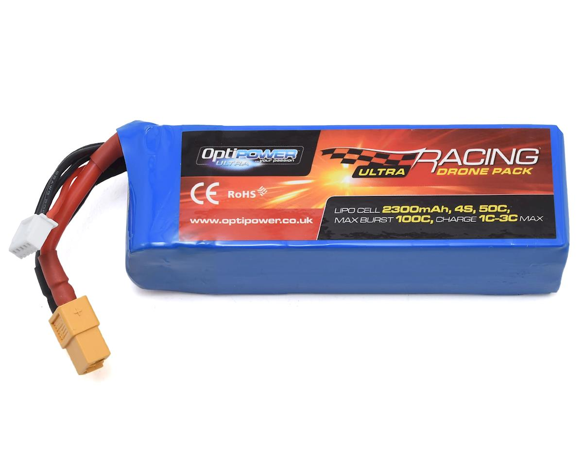 Optipower 4S 50C LiPo Battery (14.8V/2300mAh)