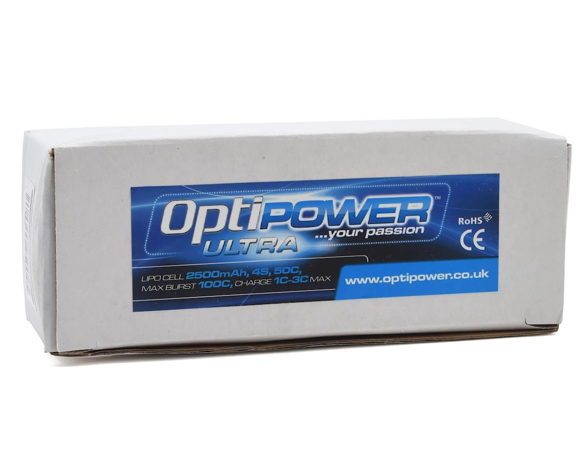 Optipower 4S 50C LiPo Battery (14.8V/2500mAh)