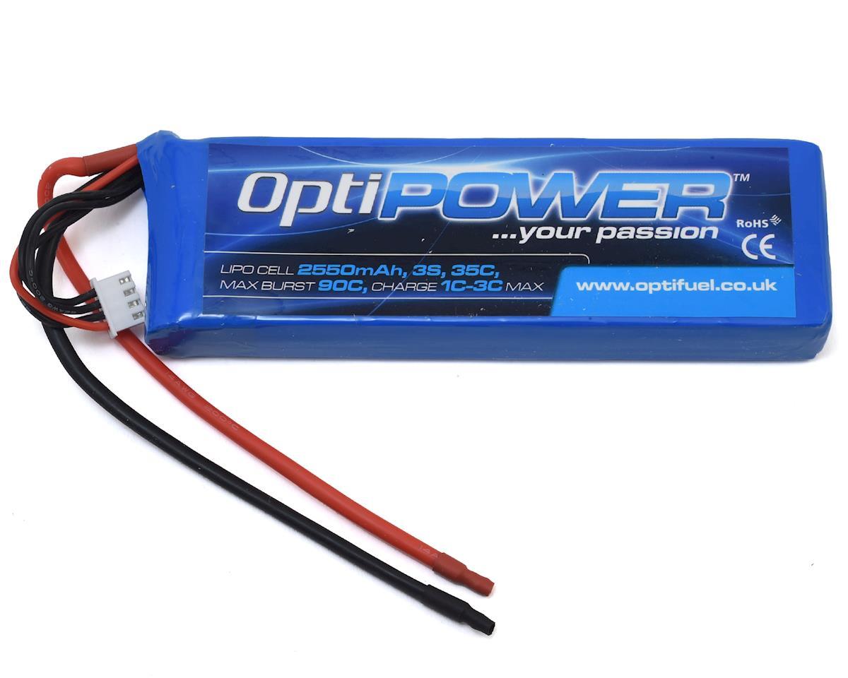 Optipower 3S 35C LiPo Battery (11.1V/2550mAh)