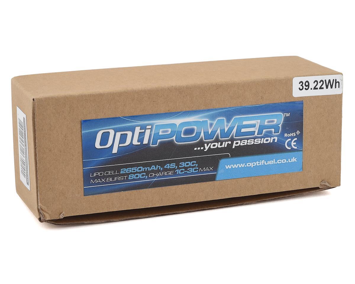Optipower 4S 30C LiPo Battery (14.8V/2650mAh)