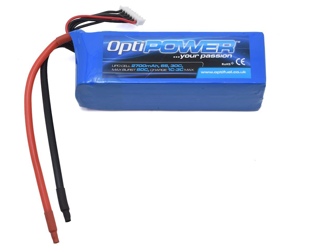 Optipower 6S 30C LiPo Battery (22.2V/2700mAh)