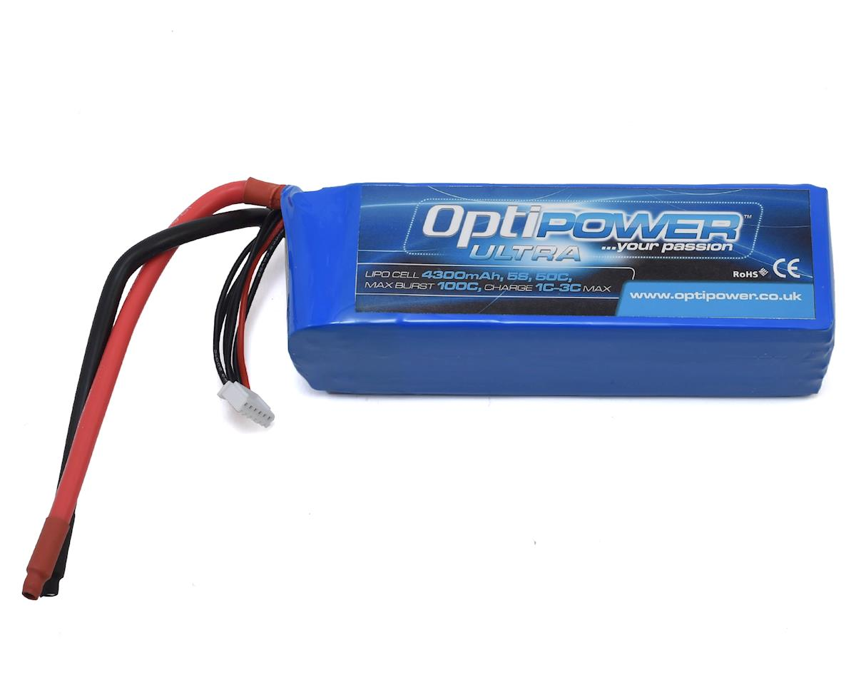 Optipower 5S 50C LiPo Battery (18.5V/4300mAh)