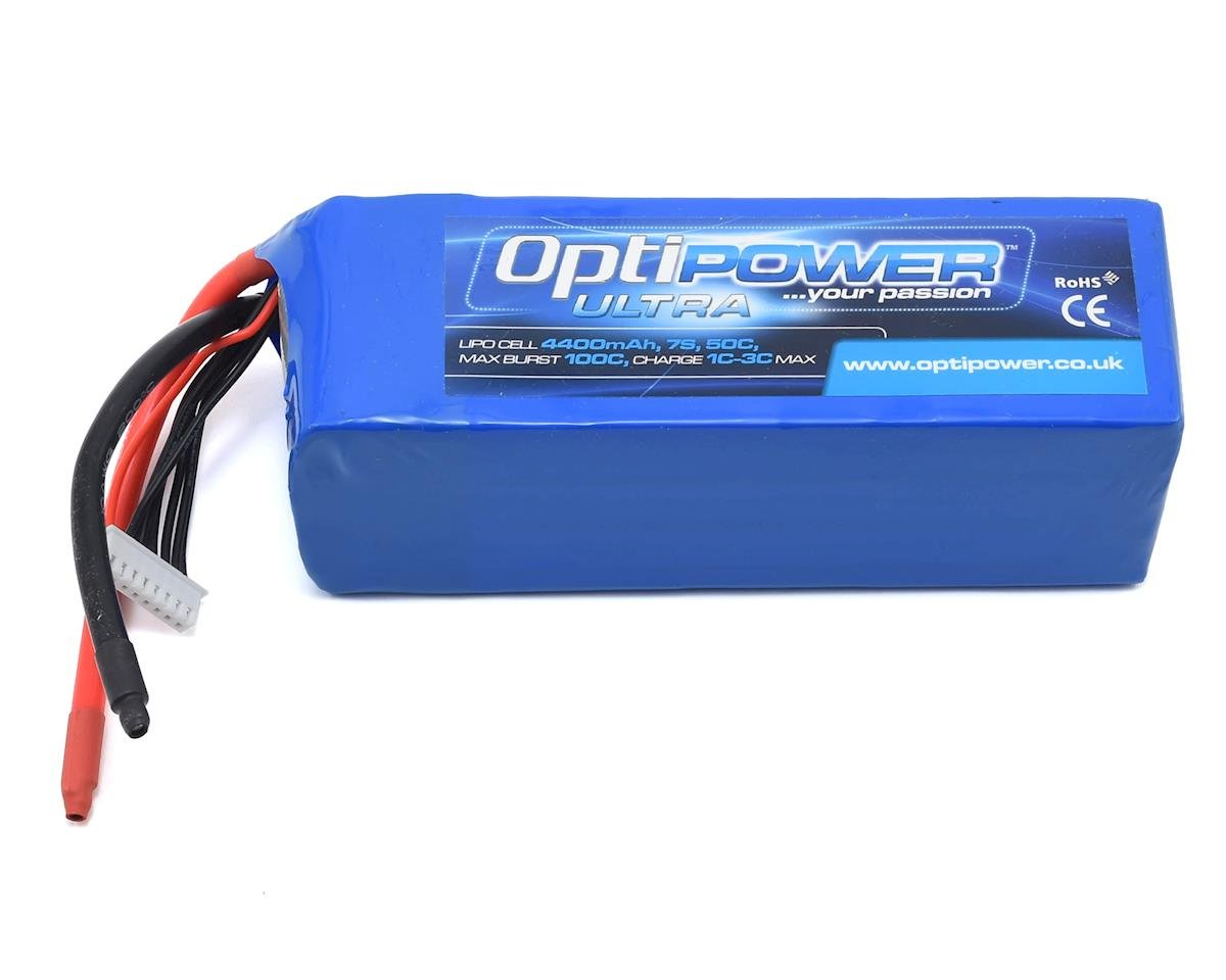 Optipower 7S 50C LiPo Battery (25.9V/4400mAh)
