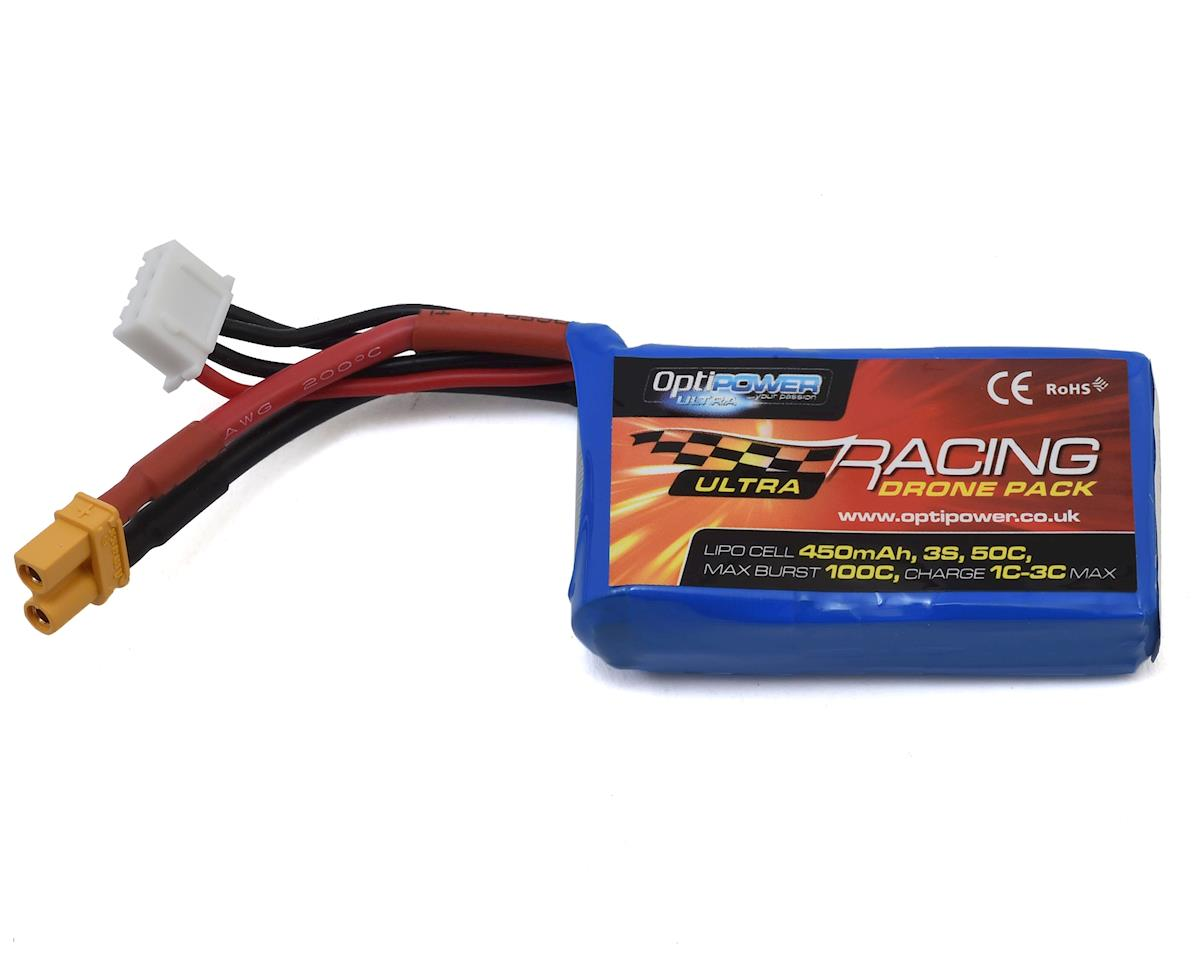 Optipower 3S 50C LiPo Battery (11.1V/450mAh)