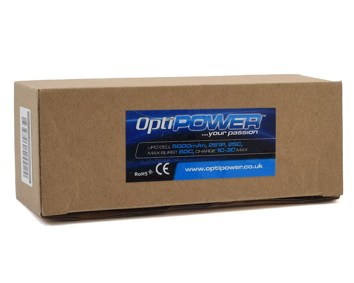 Optipower 2S 25C LiPo Receiver Battery (7.4V/5000mAh)