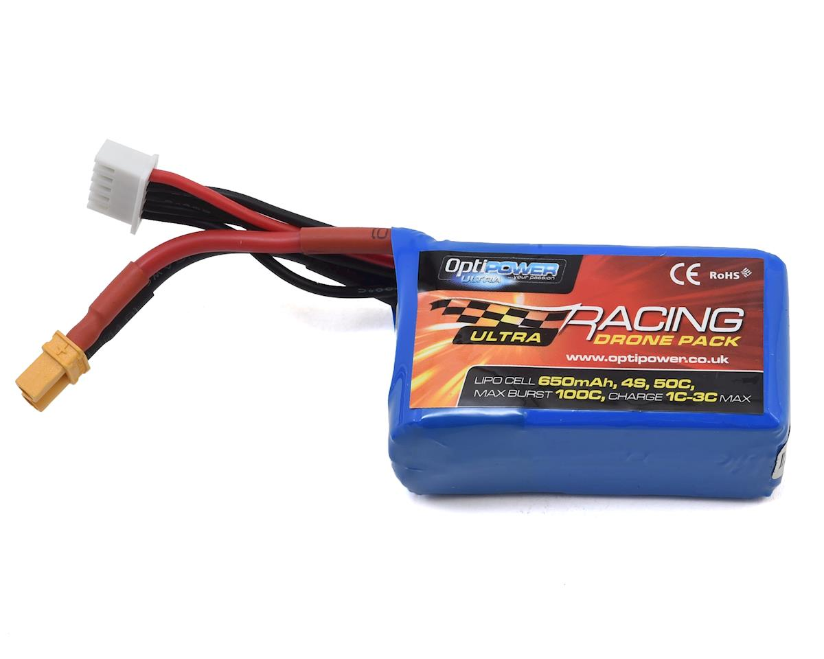 Optipower 4S 50C LiPo Battery (14.8V/650mAh)