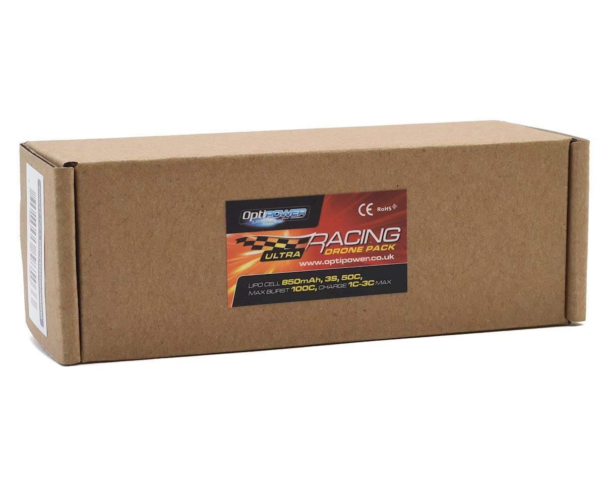 Optipower 3S 50C LiPo Battery (11.1V/850mAh)