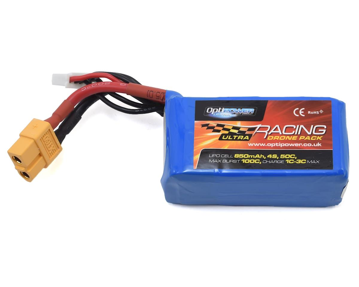 Optipower 4S 50C LiPo Battery (14.8V/850mAh)