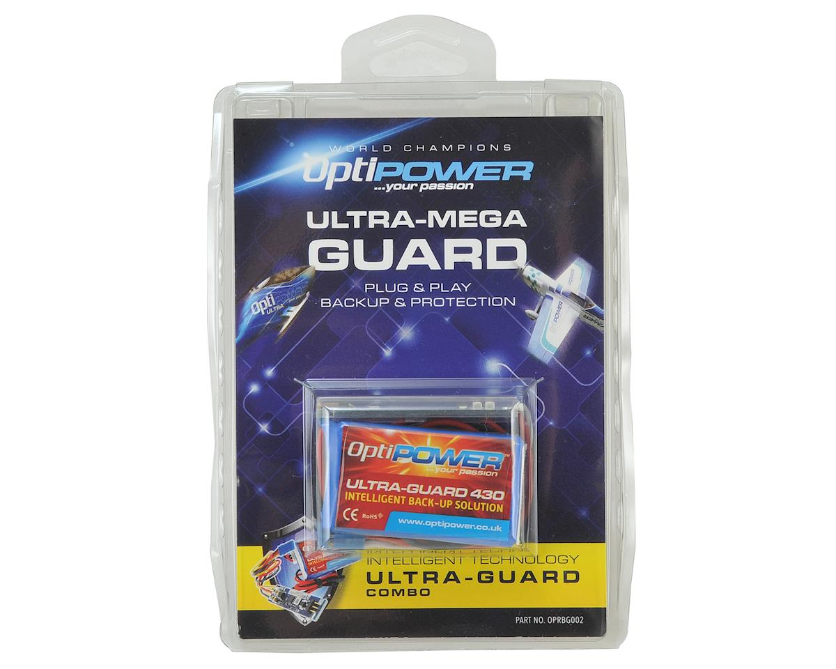 "Optipower Ultra-Guard ""Mega Guard"" Back Up Solution Mega Combo"