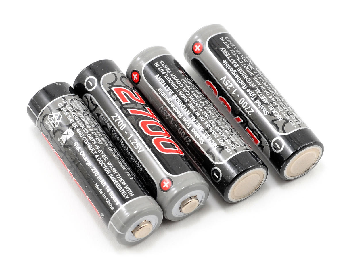 Team Orion NiMH AA Loose Battery Cells (1.2V/2700mAh) (4)