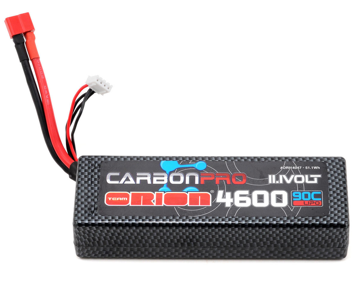 "Team Orion 3S ""Carbon Pro"" 90C Li-Poly Battery Pack w/Deans (11.1/4600mAh)"