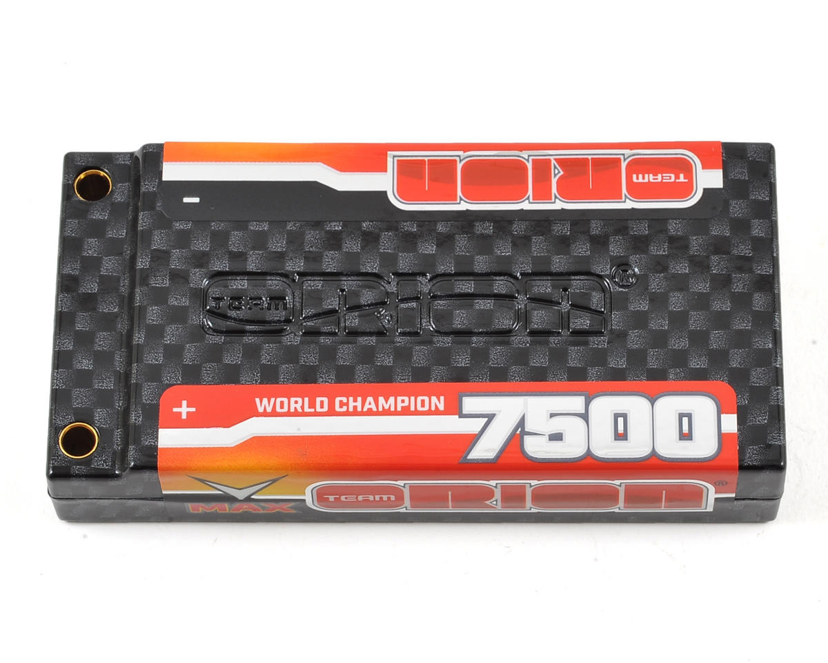 Team Orion 1S Carbon V-Max 110C LiPo Battery (3.8V/7500mAh)
