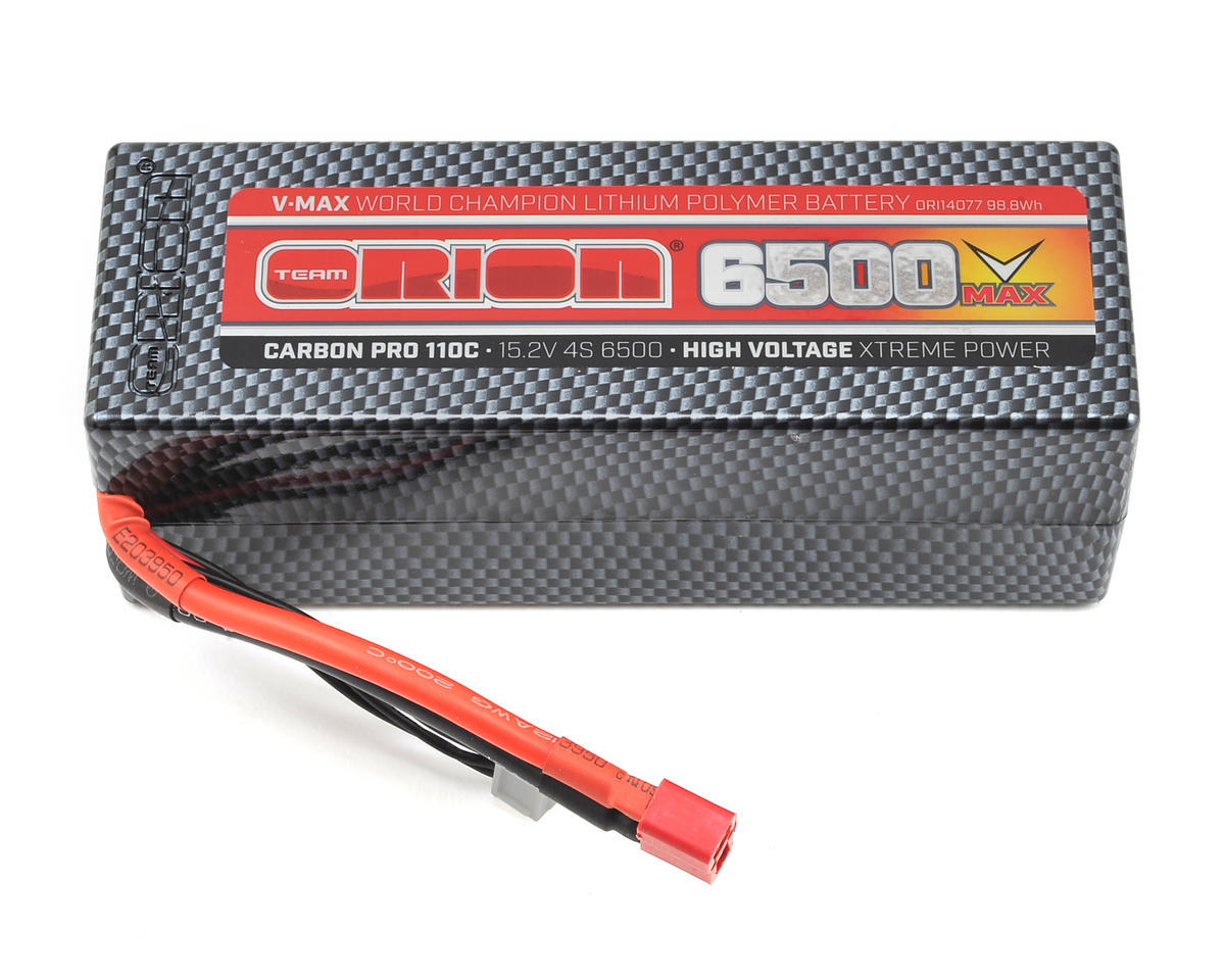 4S Carbon V-Max 110C LiPo Pack Battery w/Deans (15.2V/6500mAh)