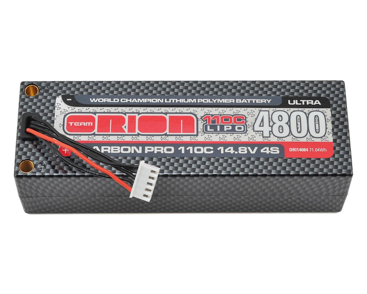Team Orion 4S Carbon Pro Ultra 110C LiPo Pack Battery w/Deans (14.8V/4800mAh)