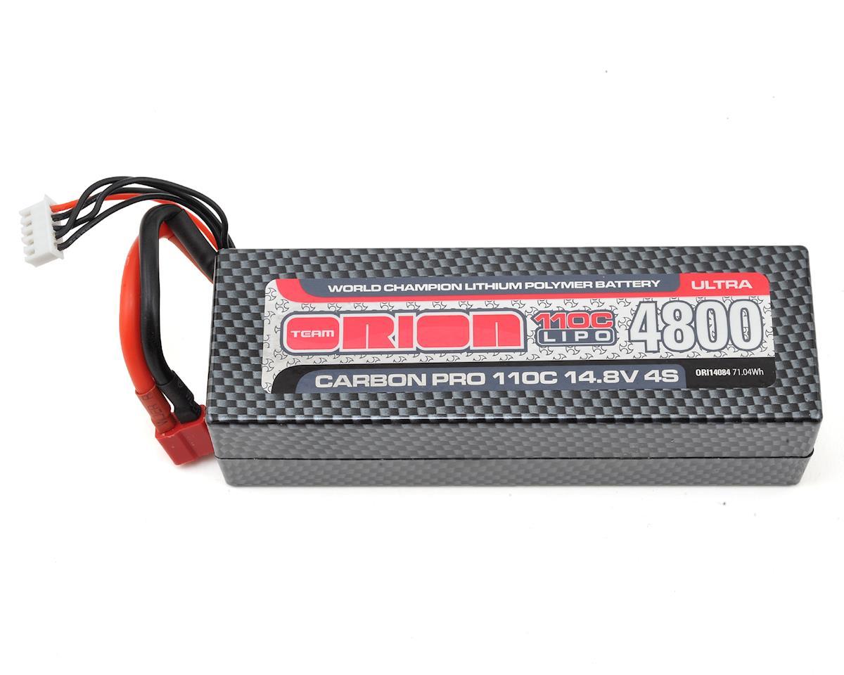 Team Orion 4S Carbon Pro Ultra 110C LiPo Battery Pack w/Deans (14.8V/4800mAh)