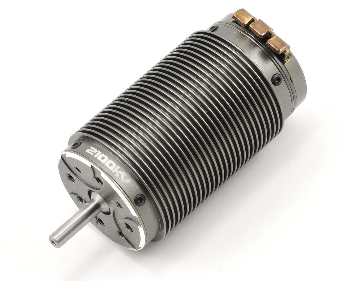 "Team Orion Vortex MR8 ""Long"" 4 Pole 1/8 Scale Sensored Brushless Motor (2100kV)"
