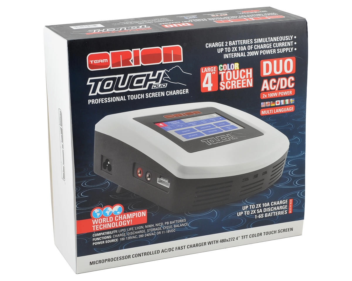Team Orion Advantage Touch Duo AC/DC Charger (6S/10A/100W x 2)
