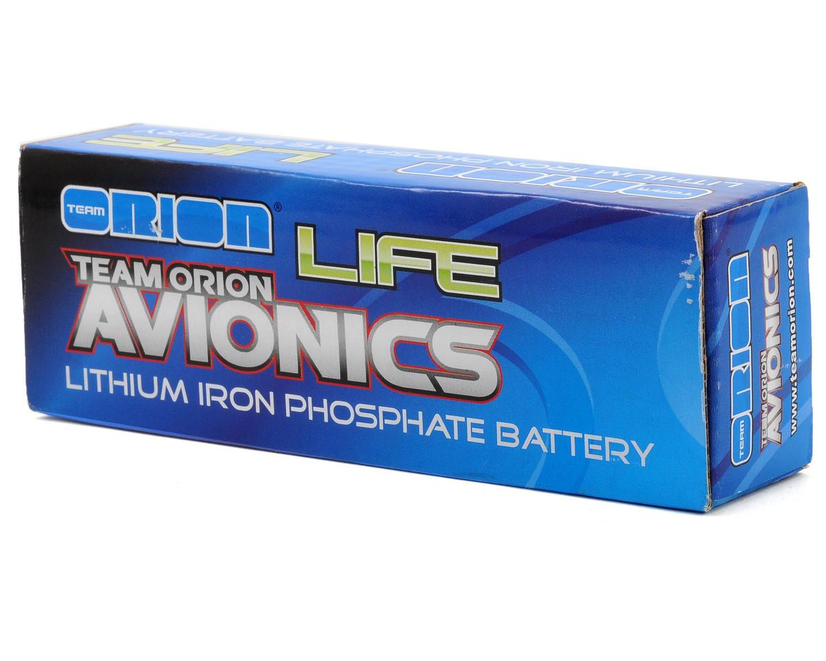 Team Orion Avionics 2S LiFe Receiver Battery 30C w/Universal Plug (6.6V/1300mAh)