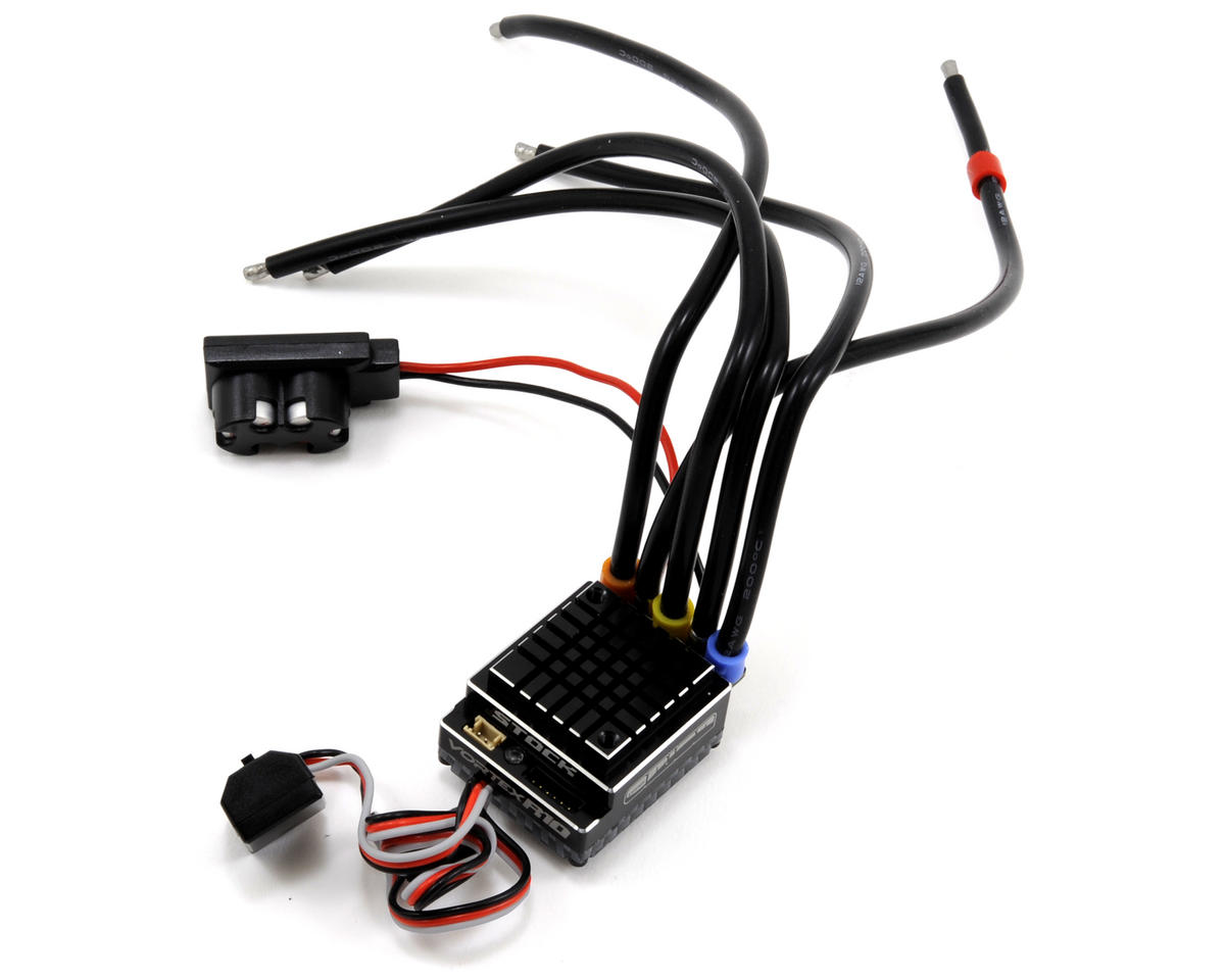 Vortex R10 Stock US SPEC Brushless ESC (90A, 2-3S)